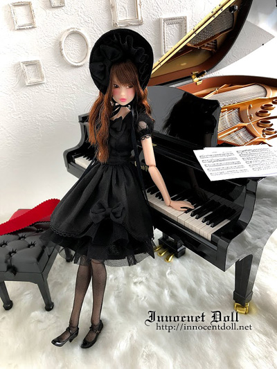 "1/6 scale doll dress""Gothic Lolita""_画像3"