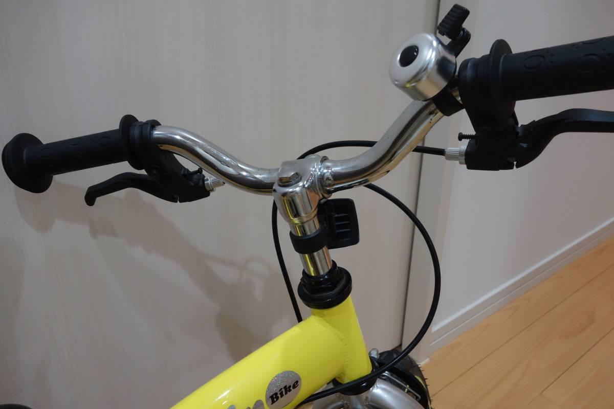 【中古良品】へんしんバイク イエロー 室内保管_画像3