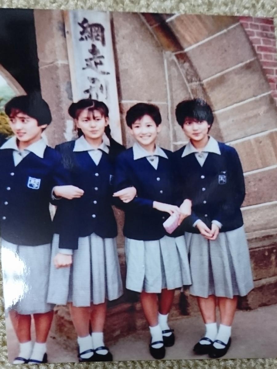 岡田有希子さんと南野陽子さんの貴重な堀越学園修学旅行写真