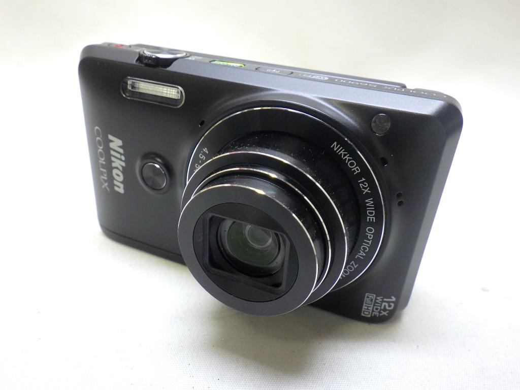1スタ!美品【Nikon】COOLPIX S6900 Wi-Fi ニコン デジタルカメラ 付属品有り