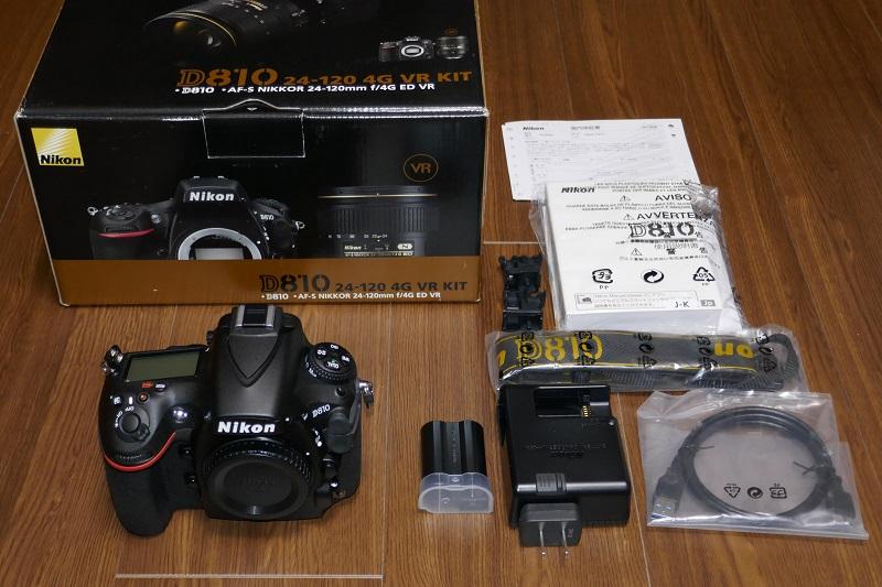 【美品】Nikon D810 ボディ