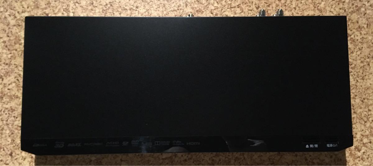 美品 panasonic パナソニック ブルーレイレコーダー DMR BRW1000 2014年製 中古_画像2