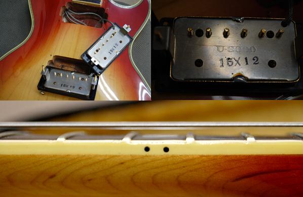国産ヴィンテージ! Greco/グレコ エレキギター EG1000R 1975年製 U-3000 EGシリーズ レスポールカスタム_画像9