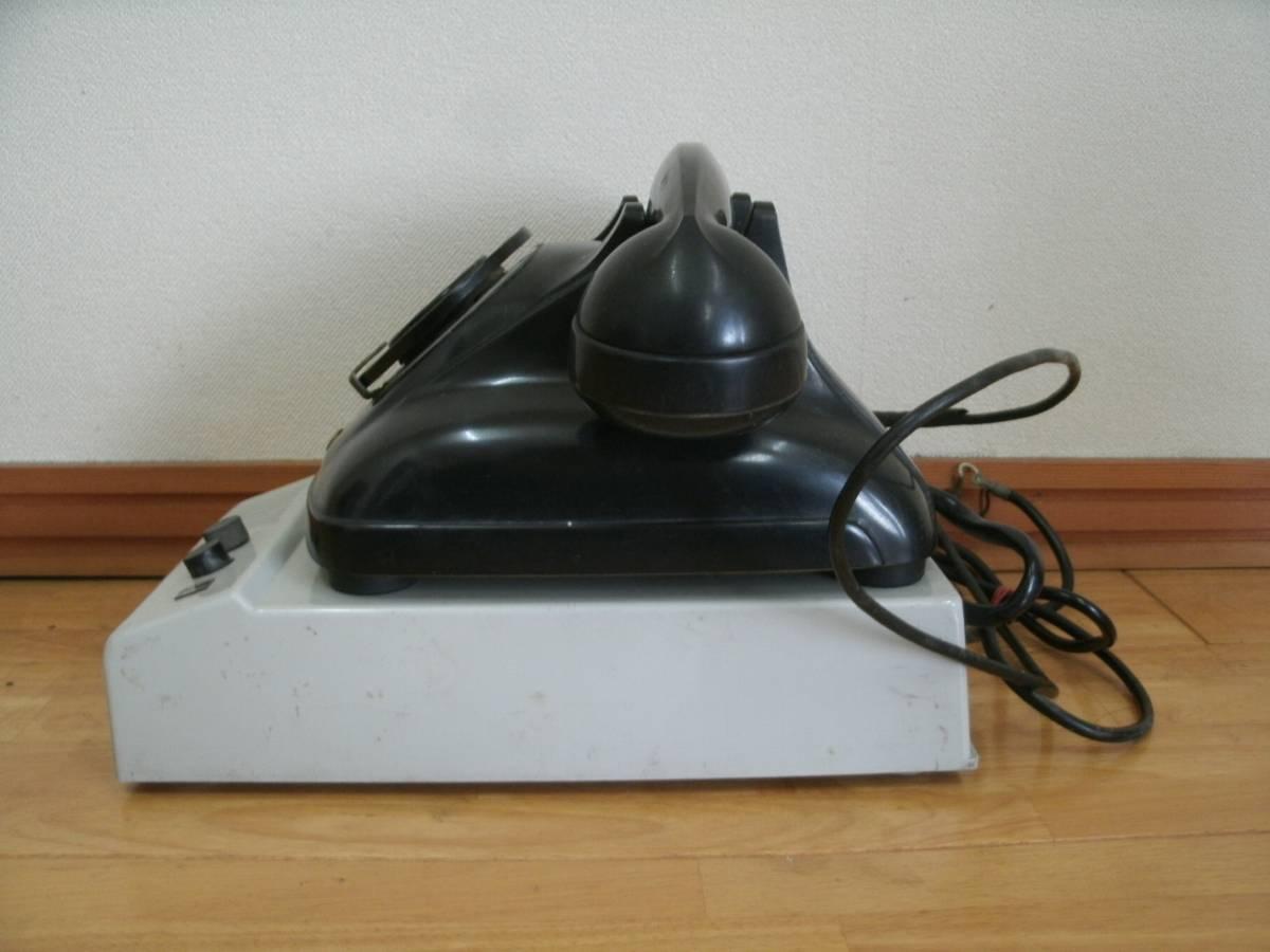 昭和レトロ 富士通 F-202A自動式電話機 F59型A スピーカーボックス セット 富士通信機製造株式会社_画像3
