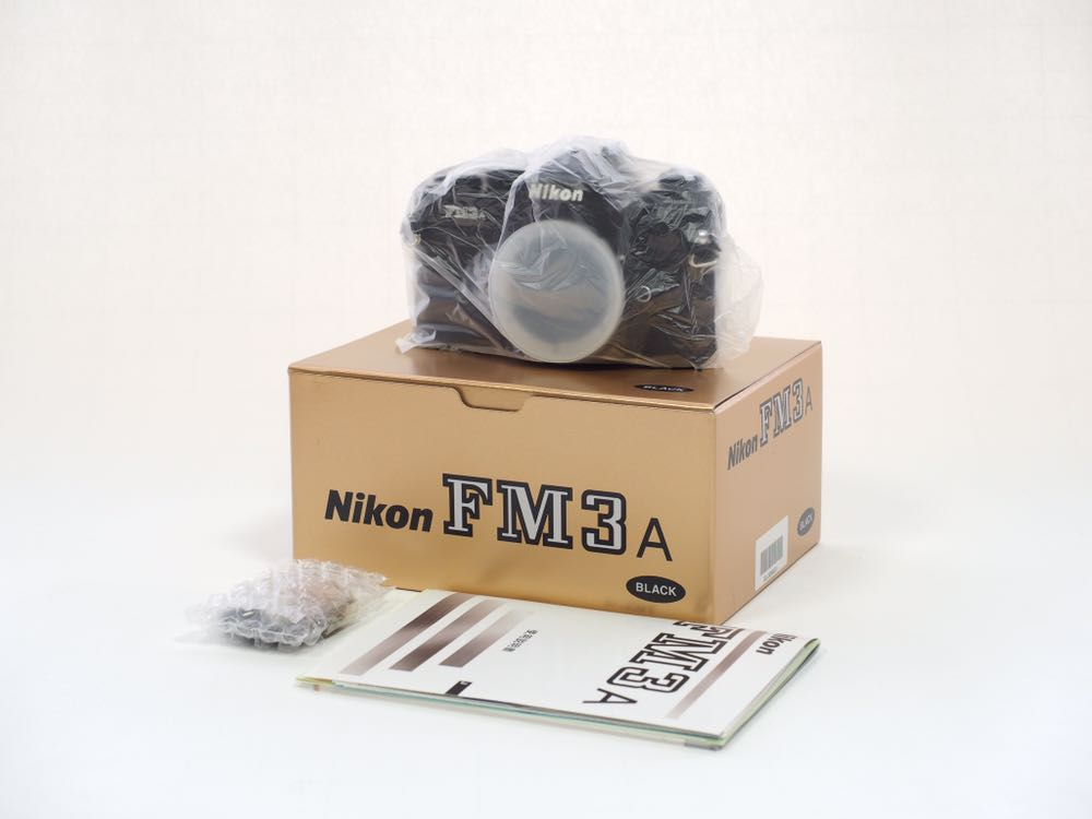 Nikon FM3A Black 未使用新品