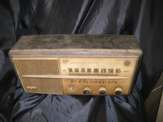 真空管ラジオ NATIONAL EA-370 ジャンク!