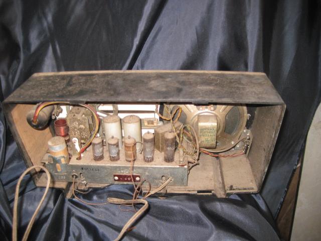 真空管ラジオ NATIONAL EA-370 ジャンク!_画像2