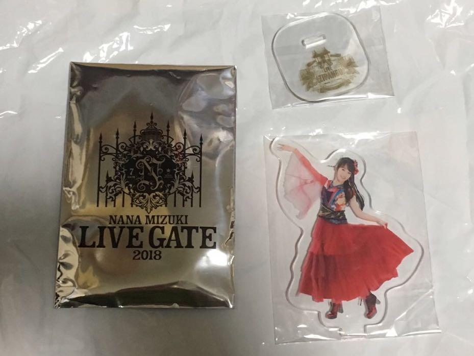 水樹奈々 LIVE GATE 2018 会場限定アクリルスタンド LIVE ZIPANGU 2017 ②