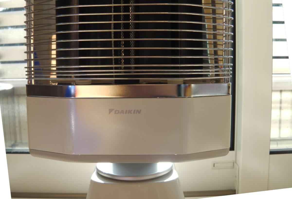 ダイキン DAIKIN  (中古) ERFT11KS 遠赤外線暖房機 セラムヒート パールホワイト_画像6