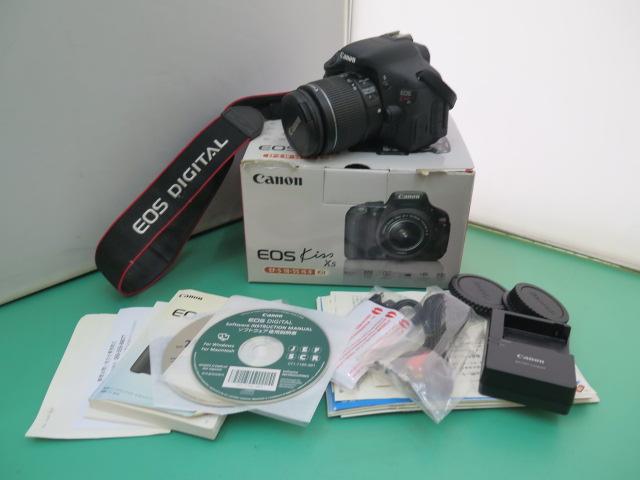 1円~【Canon】 キャノン EOS Kiss X5 レンズ付き