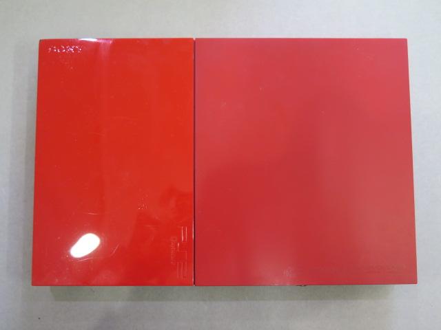 1円~【ジャンク】 ソニー PS2 SCPH-90000 赤