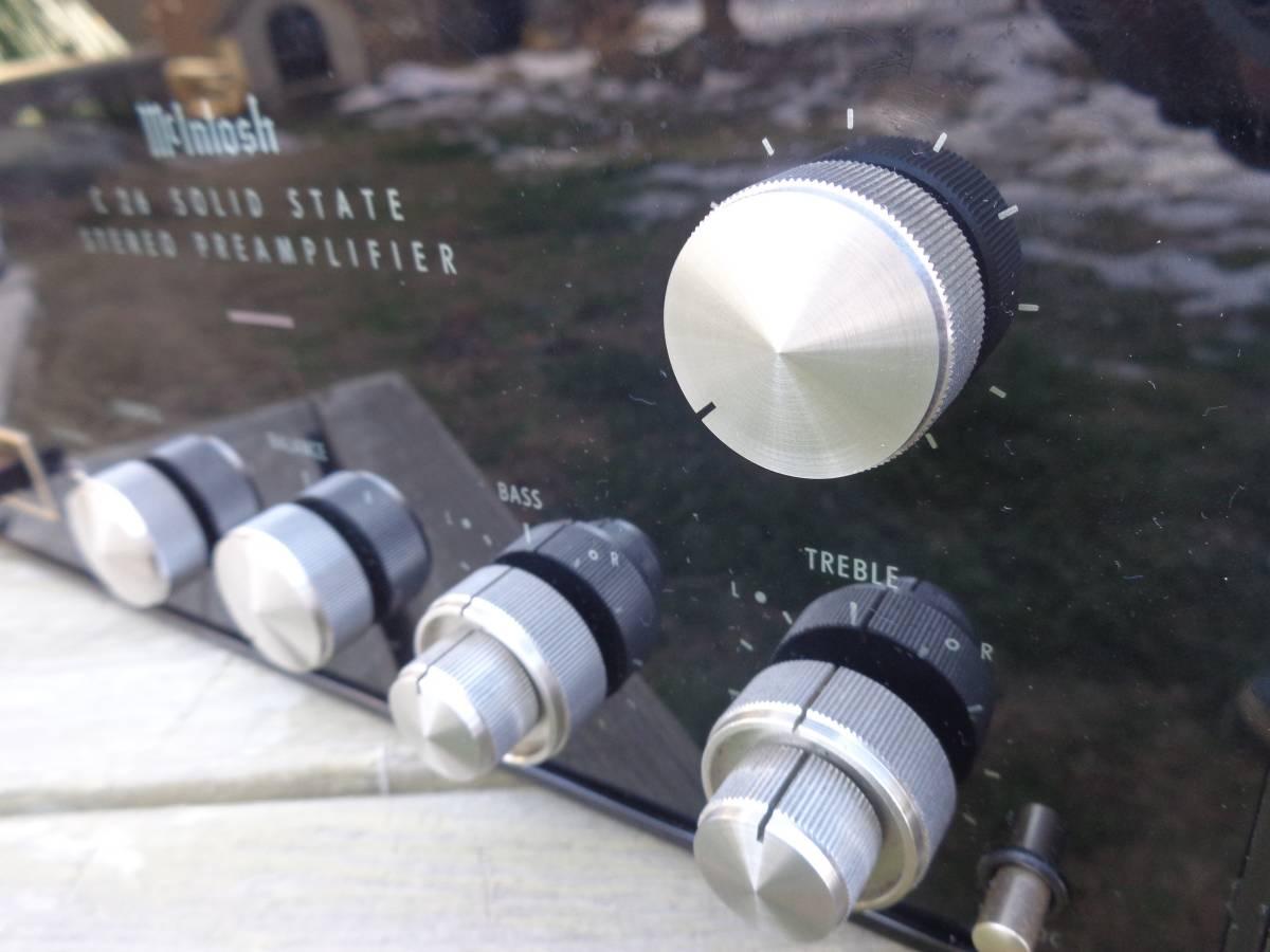 マッキントッシュ プリアンプ  C26 完全ジャンク品 部品取用 120V仕様_画像2