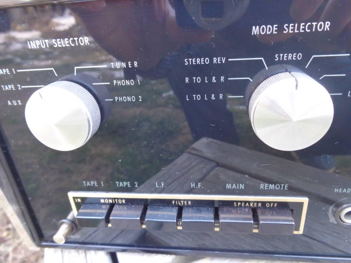 マッキントッシュ プリアンプ  C26 完全ジャンク品 部品取用 120V仕様_画像3
