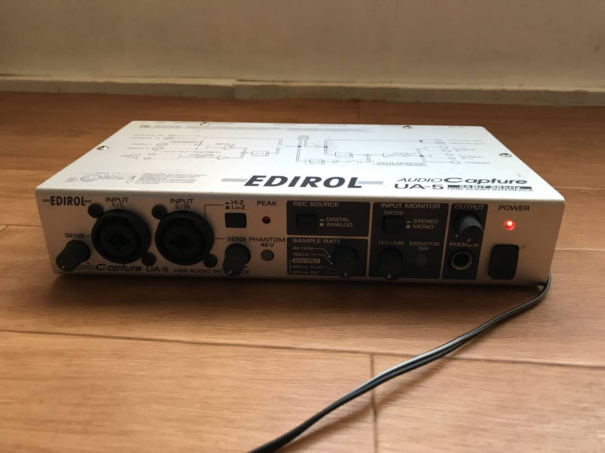 EDIROL UA-5 AUDIO Capture WIN7対応_画像6