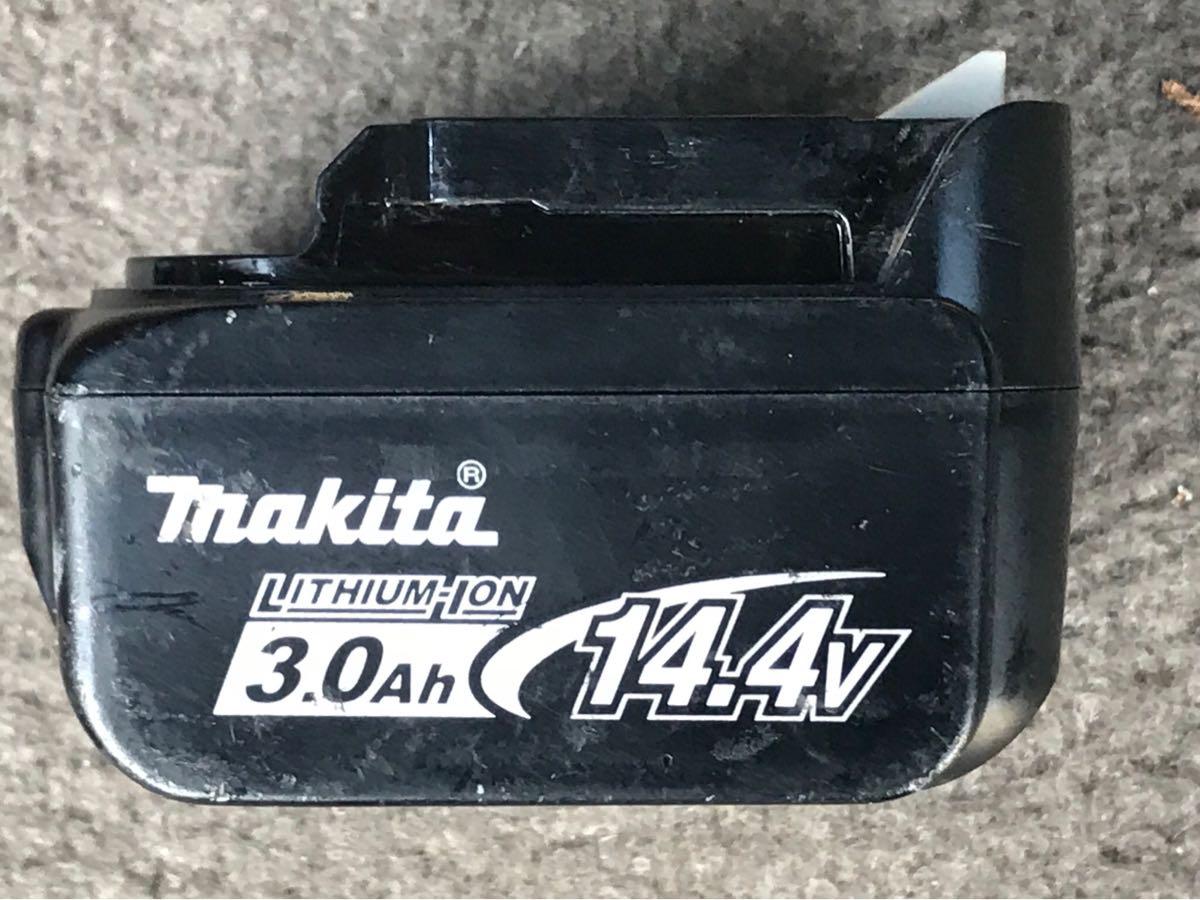【美品】マキタ 本体18V対応サンダー バッテリー14.4V 一個 充電器付き_画像4