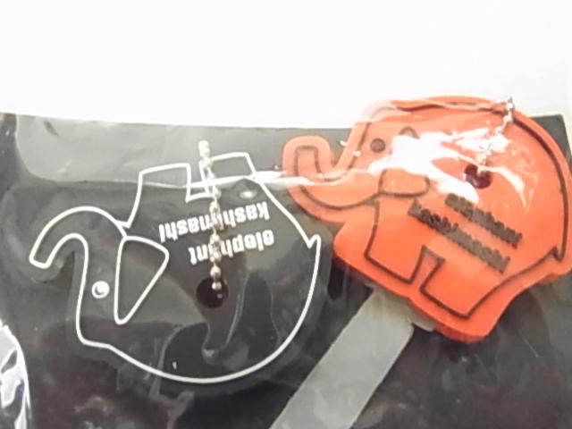エレファントカシマシ PAOグッズ ファンクラブグッズ 象のアイコンキーカバー 赤と黒のセット 新品未使用未開封品 完売品 貴重レア