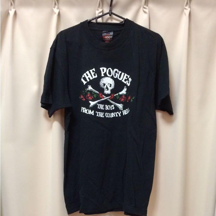 バンドTシャツ THE POGUES 竹原ピストル Tシャツ ポーグス ロック 古着