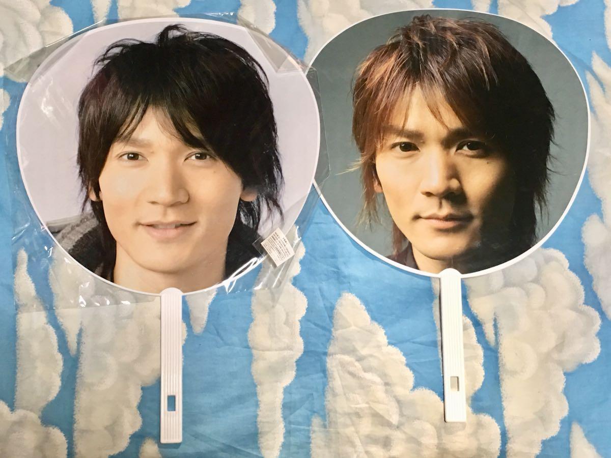 V6  長野博  ツアーグッズ  うちわ  2004/2006-2007  2枚セット
