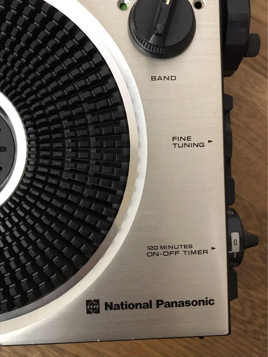 必見 ! 中古品 動作未確認 現状渡し 昭和レトロ National ナショナル Panasonic パナソニック COUGAR クーガー115  RF-1150 !_画像4