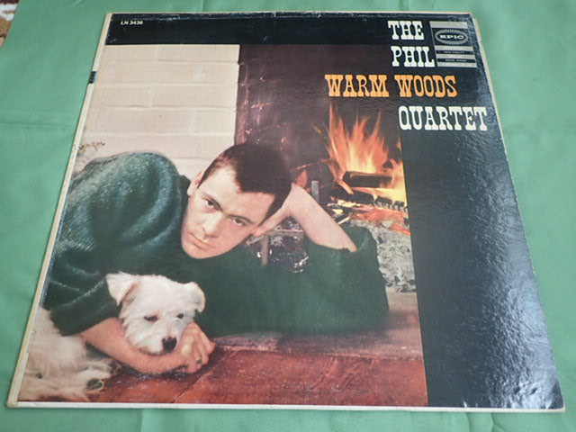 良盤: US Epic mono dg WARM WOODS / THE PHIL WOODS QUARTET