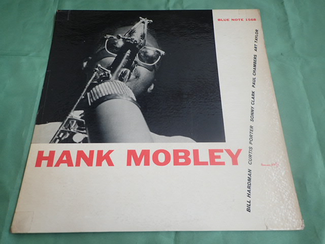 US Blue Note 1568 47W63rd 23付き dg rvg ear HANK MOBLEY_画像1