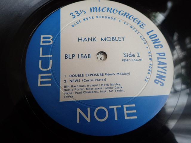 US Blue Note 1568 47W63rd 23付き dg rvg ear HANK MOBLEY_画像5