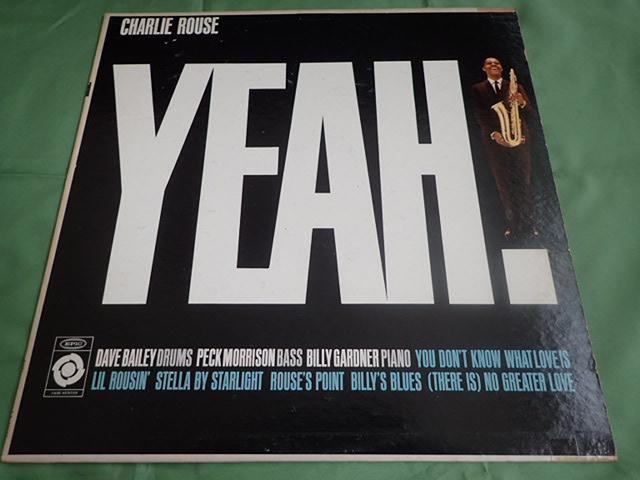 美盤:US Epic mono dg YEAH / CHARLIE ROUSE