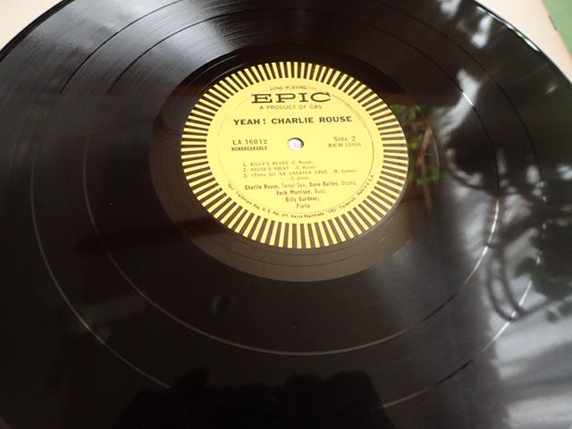 美盤:US Epic mono dg YEAH / CHARLIE ROUSE_画像6