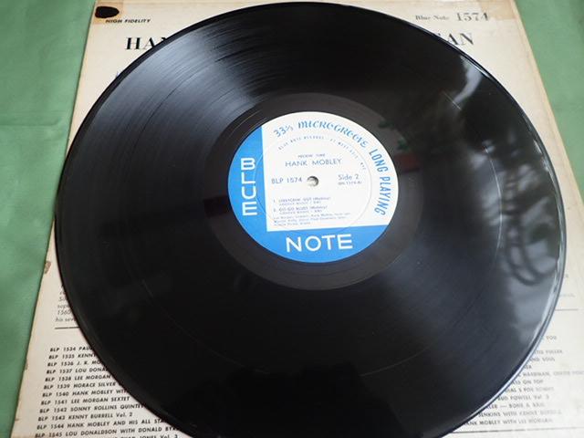 US Blue Note 47W63rd dg rvg ear PECKIN' TIME / HANK MOBLEY_画像6