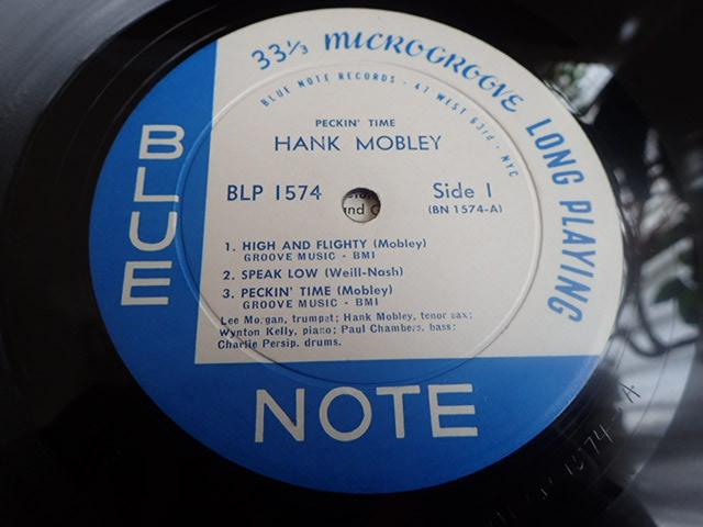 US Blue Note 47W63rd dg rvg ear PECKIN' TIME / HANK MOBLEY_画像3