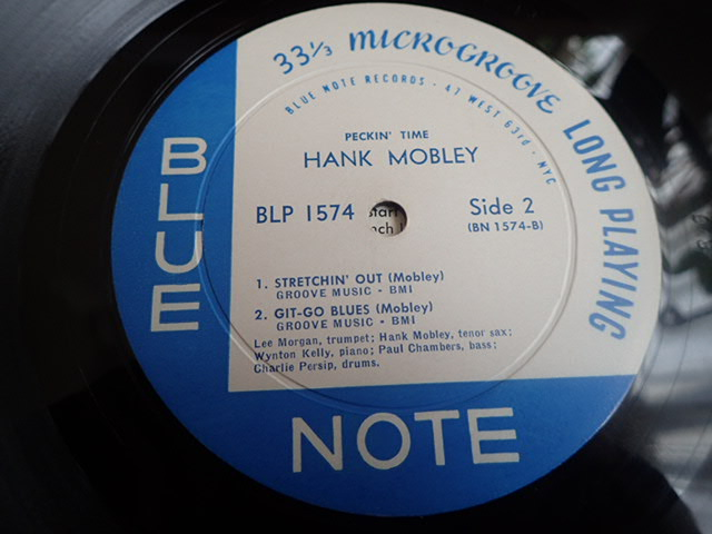 US Blue Note 47W63rd dg rvg ear PECKIN' TIME / HANK MOBLEY_画像5