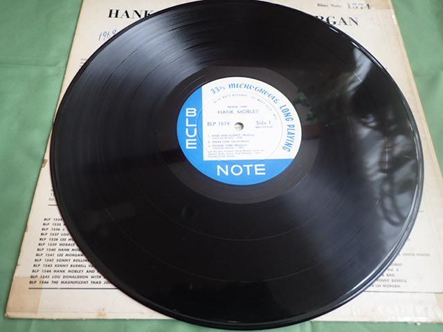 US Blue Note 47W63rd dg rvg ear PECKIN' TIME / HANK MOBLEY_画像4