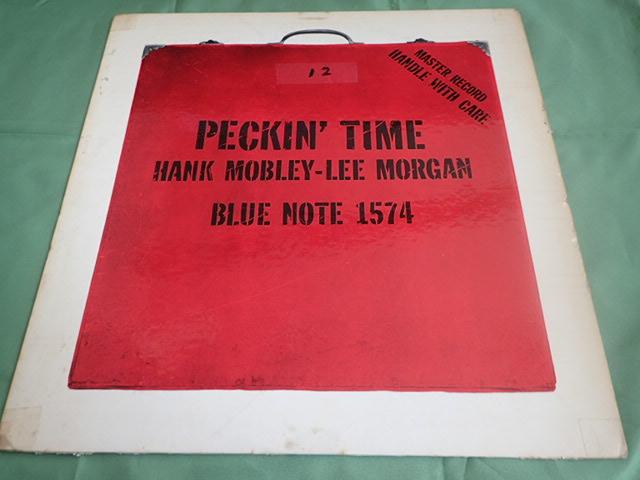 US Blue Note 47W63rd dg rvg ear PECKIN' TIME / HANK MOBLEY