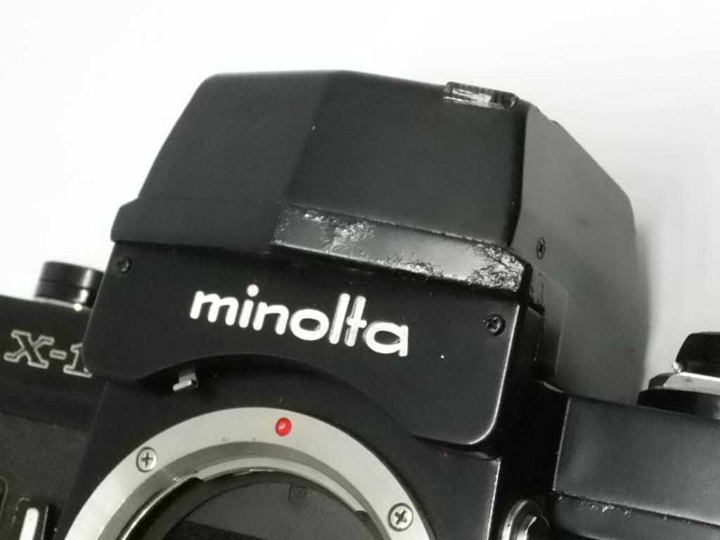 ミノルタ Minolta X-1 ボディ ジャンク_画像9