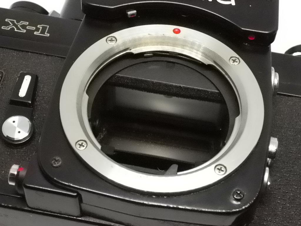 ミノルタ Minolta X-1 ボディ ジャンク_画像5