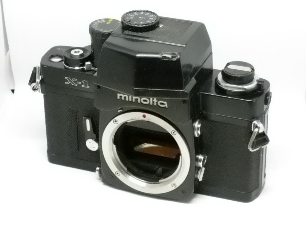 ミノルタ Minolta X-1 ボディ ジャンク