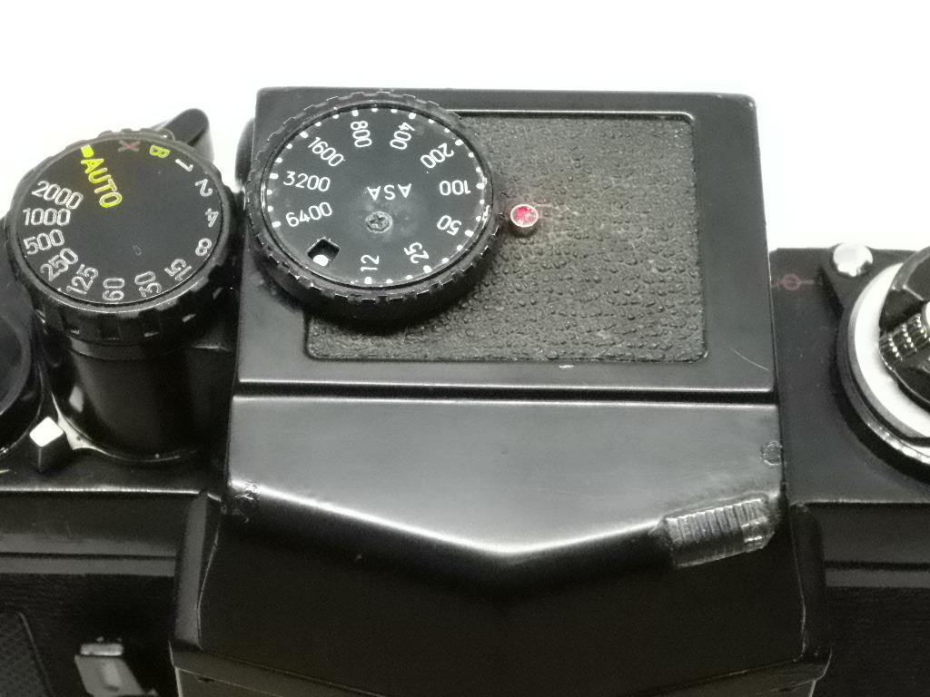 ミノルタ Minolta X-1 ボディ ジャンク_画像10