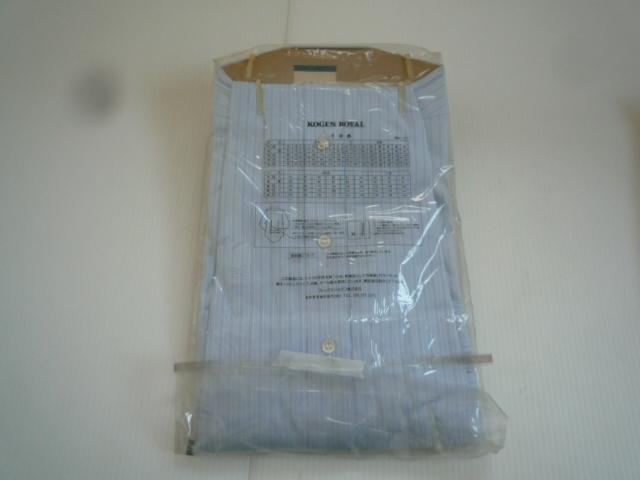 【お得!!】◆ワイシャツ2点セット◆ SWAN 青系 白 A形38 セット品 メンズ_画像5