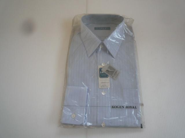 【お得!!】◆ワイシャツ2点セット◆ SWAN 青系 白 A形38 セット品 メンズ_画像2