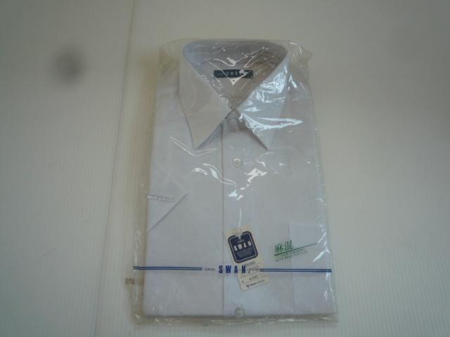 【お得!!】◆ワイシャツ2点セット◆ SWAN 青系 白 A形38 セット品 メンズ_画像6