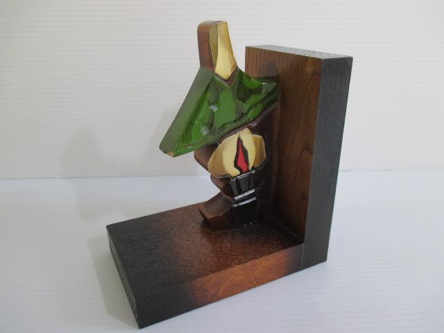 【珍しい!】★PRINCE/プリンス★オルゴール/水車&ランプ 木彫り 木製 ♪禁じられた遊び_画像5