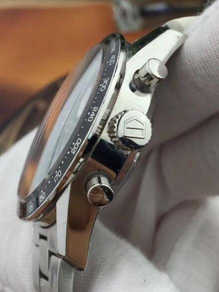 中古品 タグホイヤー カレラ タキメータークロノ CV2010.BA0794 メンズ 腕時計 自動巻_画像3