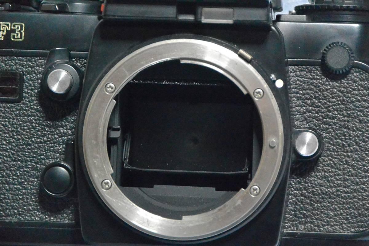 ニコン Nikon F3 ジャンク+実用モードラ MD-4_画像6