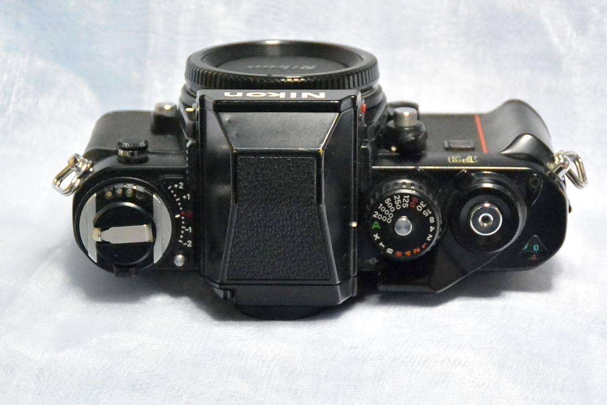 ニコン Nikon F3 ジャンク+実用モードラ MD-4_画像4