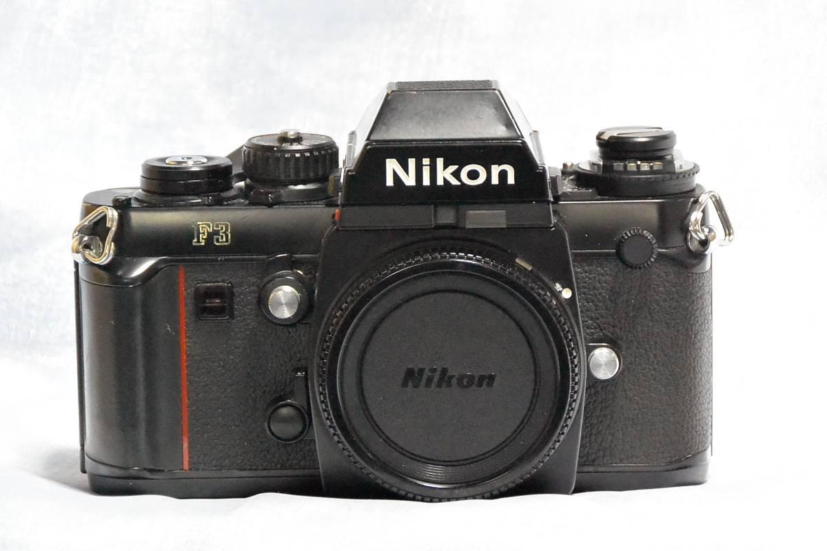 ニコン Nikon F3 ジャンク+実用モードラ MD-4_画像2