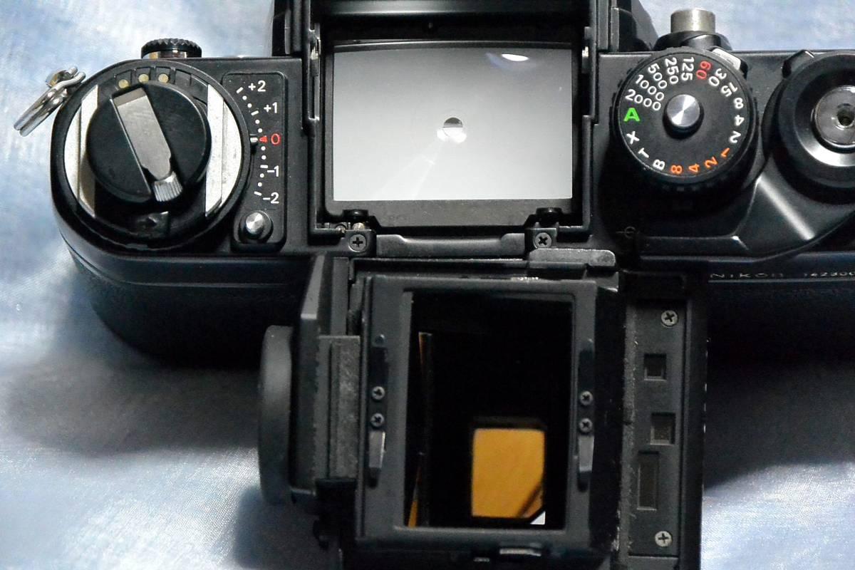 ニコン Nikon F3 ジャンク+実用モードラ MD-4_画像7