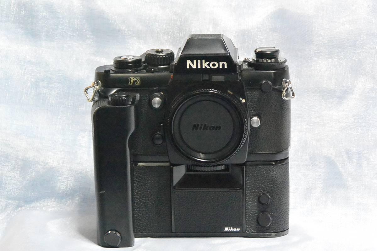 ニコン Nikon F3 ジャンク+実用モードラ MD-4