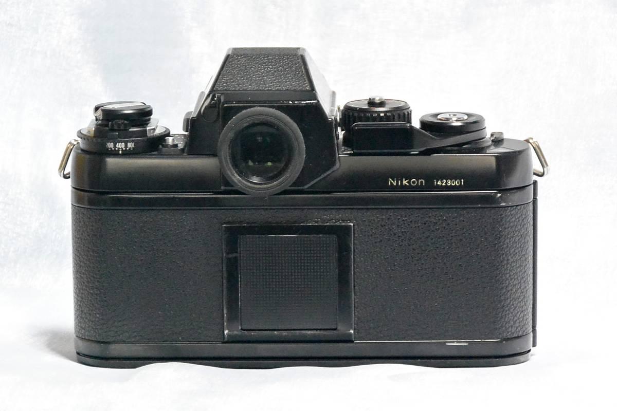 ニコン Nikon F3 ジャンク+実用モードラ MD-4_画像3