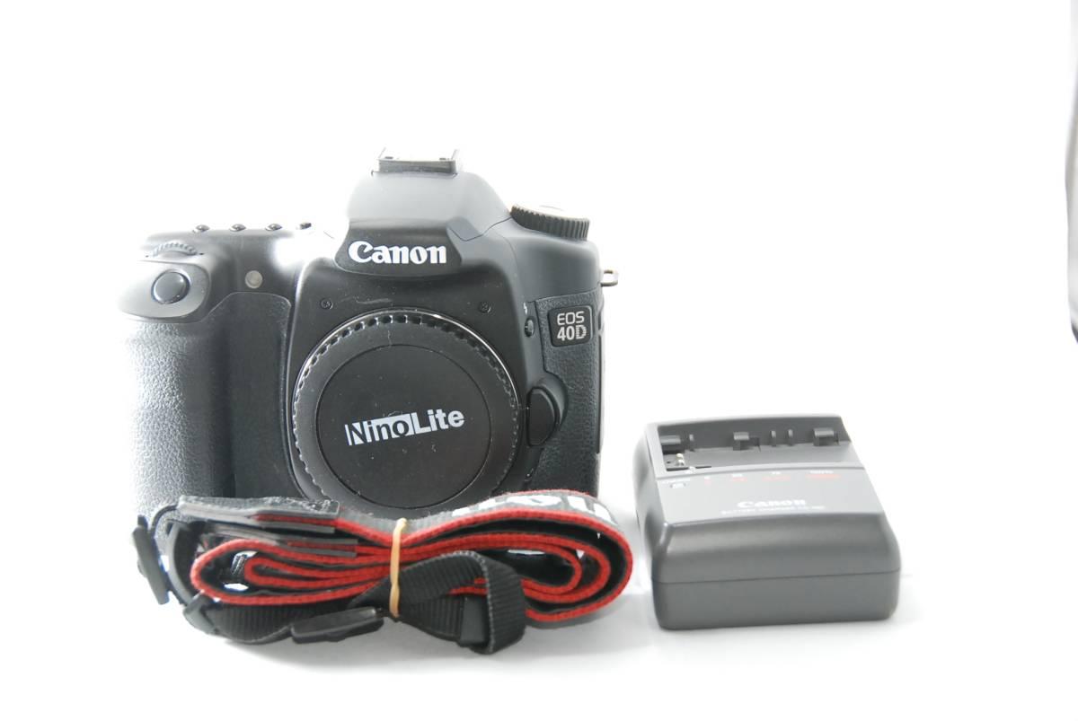 ★美品★ 名機!キヤノン Canon デジタル一眼レフカメラ EOS 40D ボディ