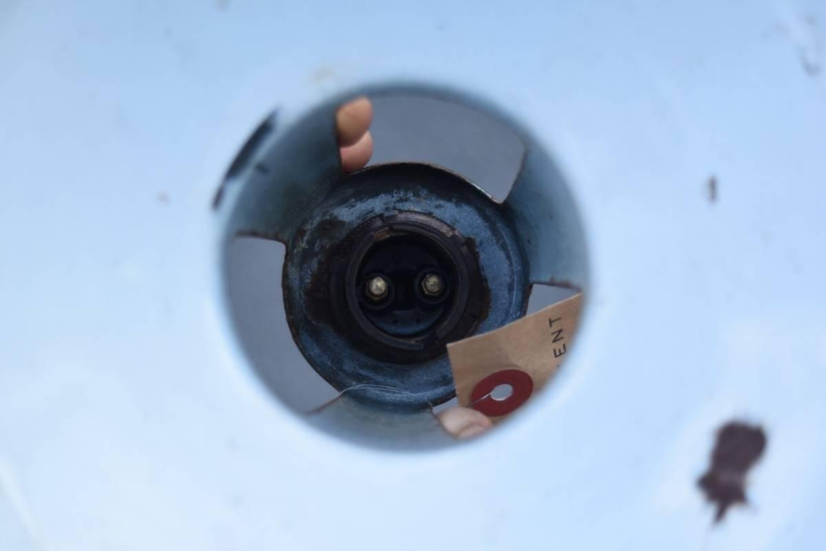 101629 ヴィンテージ エナメルランプシェード ホウロウ UK  インダストリアル MADE IN ENGLAND 英国 アンティーク ビンテージ_画像5
